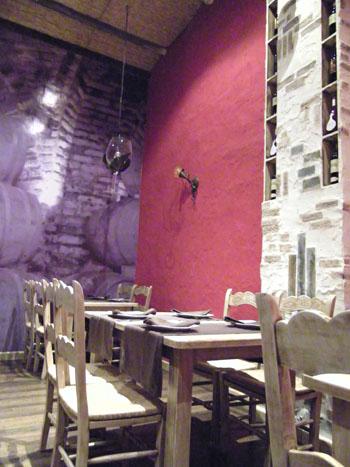 El original comedor de Altos Ibéricos. Foto: Cosas de Comé.