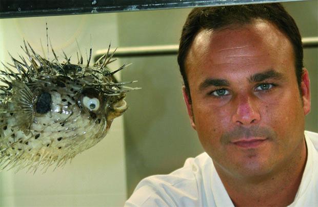 El cocinero Angel León. Foto cedida por el restaurante A Poniente.