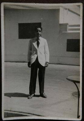 Eugenio Espinosa Palacios, con 13 años, cuando se incorporó al restaurante. Foto: Restaurante Casa Eugenio Guadalete.