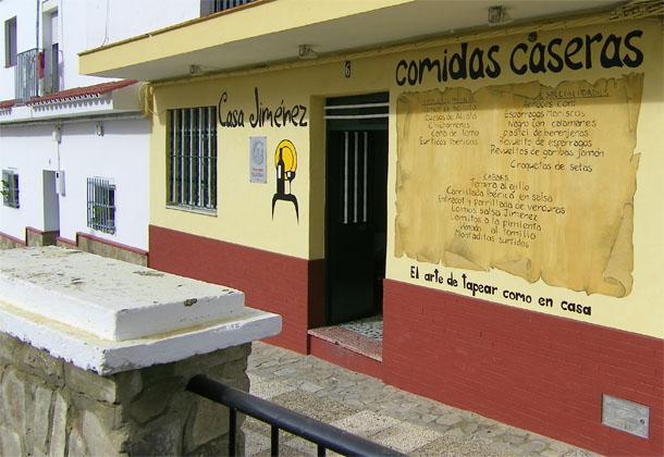 Casa Jiménez, en la calle San Antonio de Alcalá de los Gazules. Foto: Cosas de Comé