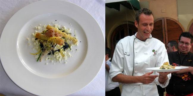 El plato de setas de León Griffioen. Fotos: Cosas de Comé y Blog de Tubal