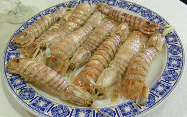 Galeras cocidas de Casa Eugenio Guadalete en El Puerto de Santa María. Foto: Cosas de Comé.