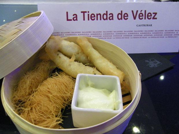"""El singular """"frito gaditano"""" de la Tienda de Vélez. Foto: Cosas de Comé"""