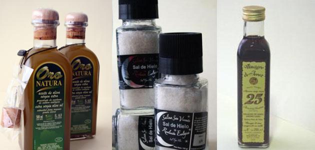 Los tres productos protagonistas de la jornada. Foto: Lola Monforte