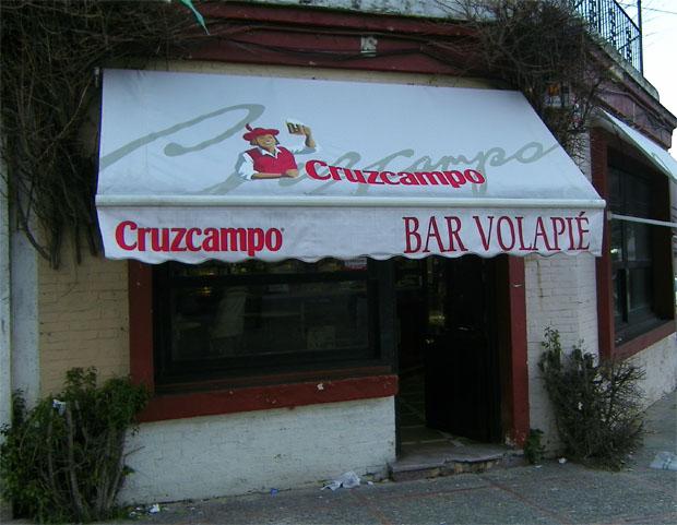 La fachada de el Bar El Volapié de Jerez. Foto: Cosas de Comé