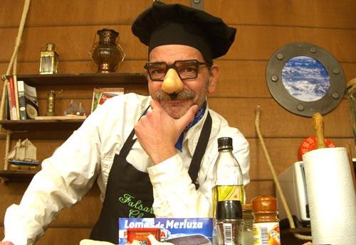 Falsarius chef pensando ¿que pongo hoy?. Foto: Cedida por el blog Gente del Puerto
