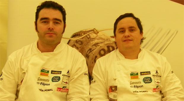 José Angel Cantero y Mikel Landa del restaurante del Real Club de Golf de Sotogrande. Foto: Cosas de Comé.