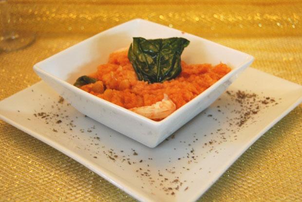 Los suspiros de Ventera de la Venga Vargas, una peculiar sopa tomate que servirá el establecimiento durante la Senda de las Maritatas: Foto: Cedida por Venta de Vargas