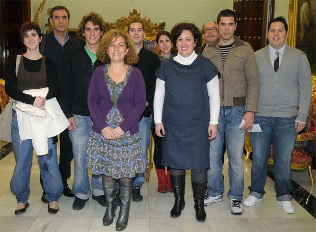 Alumnos practicas Berasategui Escuela Fernando Quiñones