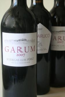 Los vinos Garum y samaruco se pueden comprar, al igual que el Petit Verdot, en la tienda www.laalacena.net. Foto: Lola Monforte