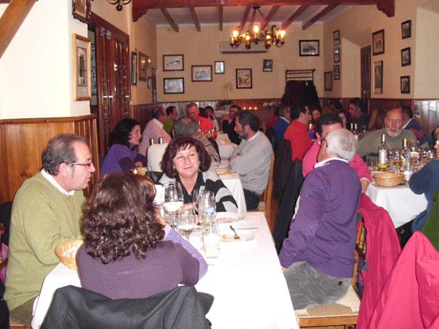 Imagen de la celebración de la primera cata celebrada en el pasado mes de febrero. Foto: Cedida por el bar restaurante Mi Pueblo