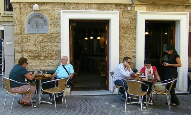 El restaurante El Aljibe, en la calle Plocia, ofrecerá platos mejicanos hasta el 21 de marzo. Foto: Cosas de Comé