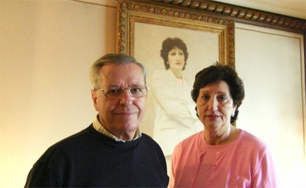 Alejandro Fernández Gavilán y Nati Mateos de la Rosa, los autores de esta receta. Foto: Cosas de Comé