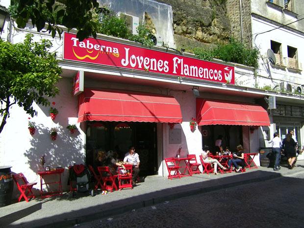 La Taberna Jóvenes Flamencos, situada en la calle Debajo del Corral de Arcos. Foto: Cosas de Comé.