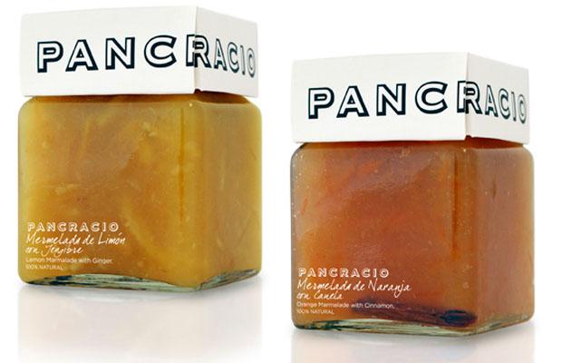 Las dos mermeladas lanzadas por Pancracio: Foto: Cedida por Pancracio