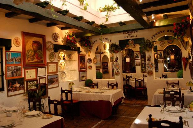 Uno de los salones de la mítica Venta Los Tarantos de San Fernando. Foto: Cosas de Comé