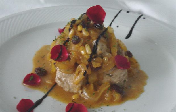 Atún del Sultán, uno de los platos que cocinó el pasado año el cocinero Blas Pérez. Foto: Cosas de Comé