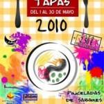 Cartel La Laguna de Tapas 2010