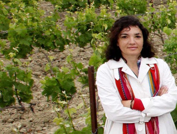 La enóloga Susana López, responsable de los vinos de Cortijo de Jara, una de las integrantes de Vinakos. Foto: Cedida por La Voz de Cádiz
