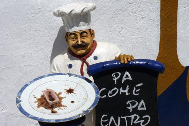 La torta de atún a la vinagreta de trufa del restaurante el Vapor, primer premio de la ruta, por votación de los asistentes. Foto: Cedida por restaurante El Vapor