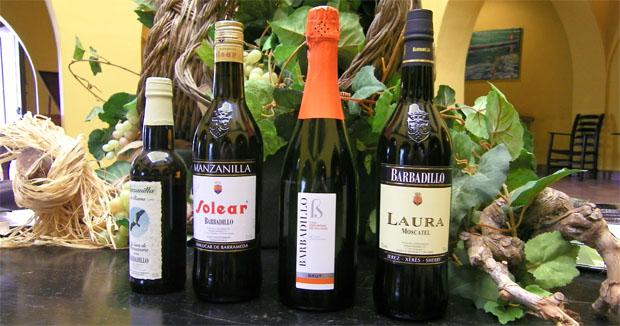 Cuatro de los vinos de Barbadillo que se examinarán durante la cata. Foto: Cosas de Comé.