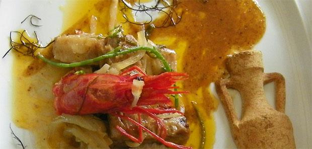 El atun con salsa Garum