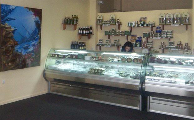 Imagen de la nueva tienda de La Chanca en la calle Arumbadores de Conil. Foto: Cosas de Comé