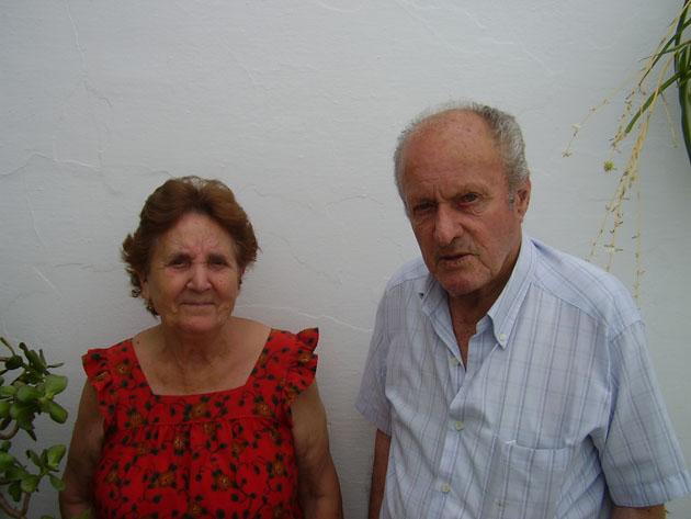 Lola Benitez y Antonio Barba creadores de la receta del arranque del bar El Torito. Foto: Cedida por el Bar El Torito.