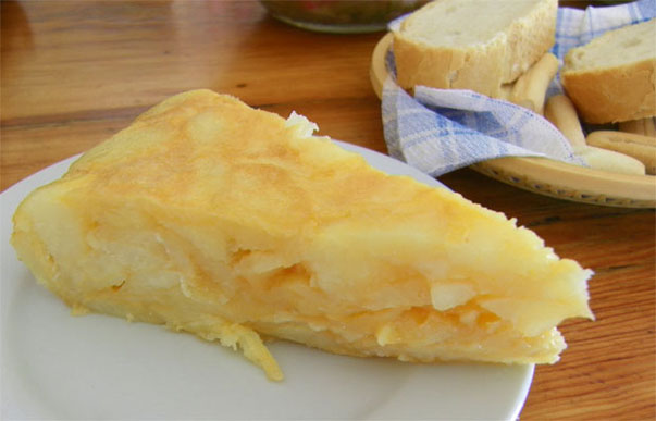 La tortilla del Loanca. Foto: Cosas de Comé