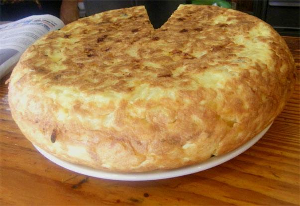 El tortillón del Maypa. Foto: Cosas de Comé.