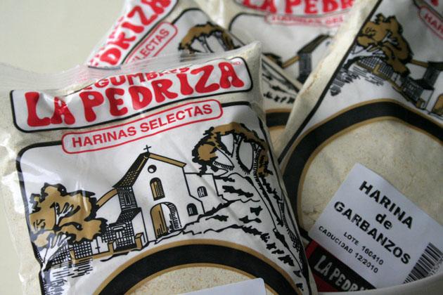 La nueva presentación de la harina de garbanzos de La Pedriza. Foto: Lola Monforte