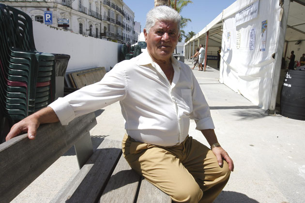 """Manuel Barberá Gallardo """"Manguita"""", el creador de las empresa Manguita de Chiclana, muy conocidos por sus cervecerías. Foto: Cedida por La Voz de Cádiz"""