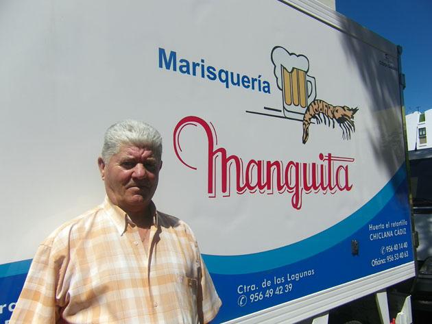 Manuel Barberá, el creador de los Esteros Manguita, es el creador de este evento gastronómico. Foto: Cosas de Comé.