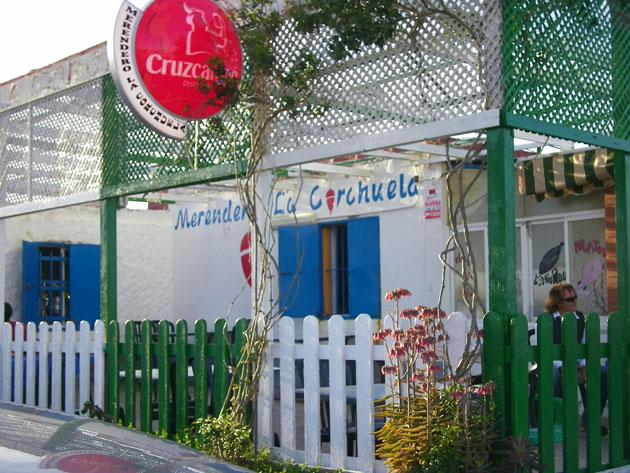 La terraza del merendero La Corchuela. Foto: Cosas de Comé