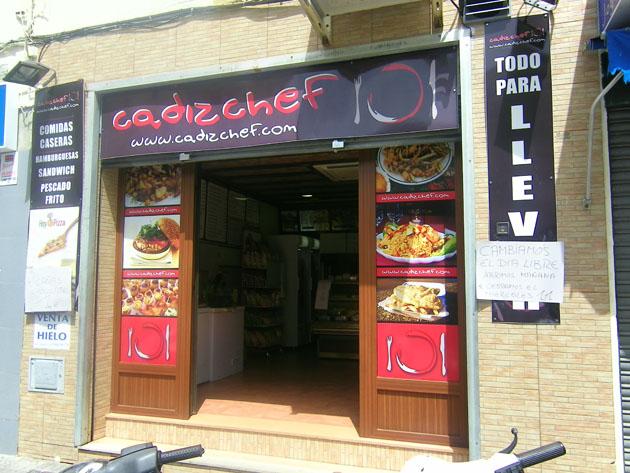 Cadizchef está situado en la avenida San Severiano de la ciudad de Cádiz. Foto: Cosas de Comé