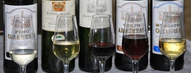 Los vinos de la bodega El Sanatorio que probaremos durante la cata. Foto: Sebastián Gómez