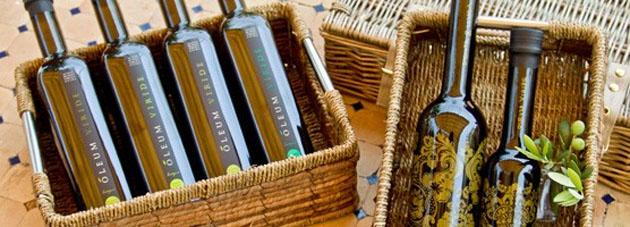 Productos de la almazara Oleum Viride de Zahara de la Sierra. Foto: Cedida por Oleum Viride