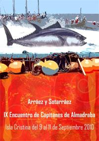 Cartel encuentro almadraba Isla Cristina