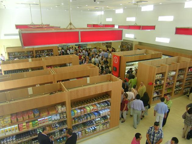"""Vista general de la tienda gastronómica """"Las Vides"""". Foto: Cosas de Comé."""