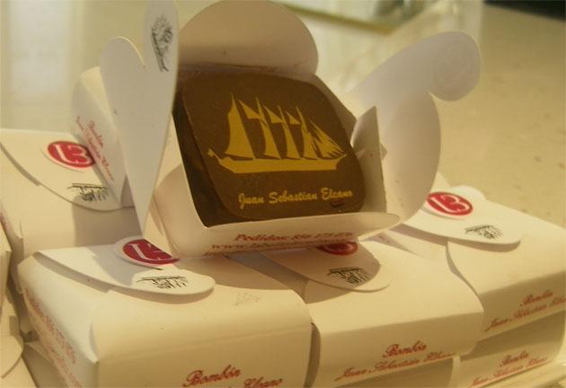 El nuevo bombón de La Belle de Cadix. Foto: Cosas de Comé.