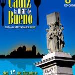 Cartel Cádiz la mar de bueno 2010