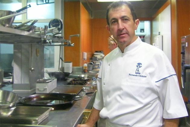 El cocinero Fernando Córdoba. Foto: Cosas de Comé.