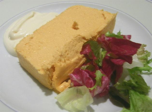 Media ración de paté de cabracho del restaurante El Faro. Foto: Cosas de Comé.