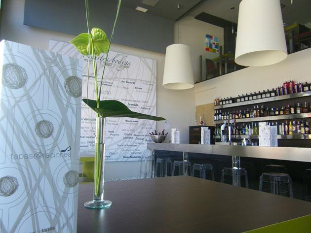 Imagen de la zona de barra del nuevo Show de Tapas de Chiclana. Foto: Cosas de Comé
