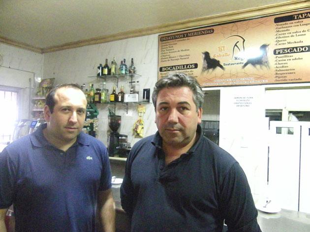 Antonio Sánchez Romero y Salvador Sánchez Romero de El Caballo Negro