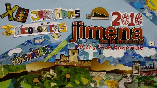Cartel Jornadas MIcológicas Jimena 2010