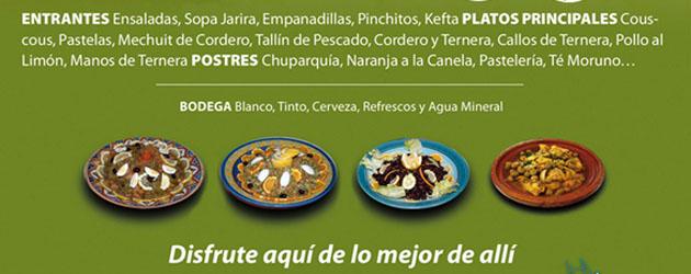 Algunos de los platos que se ofrecerán en el buffet. Foto: Cedida por el restaurante El Barco