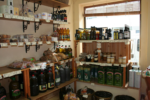 Imagen de la tienda La Alacena Cosas de Comé, en la calle Santa Teresa número 10 de Cádiz. Foto: Lola Monforte