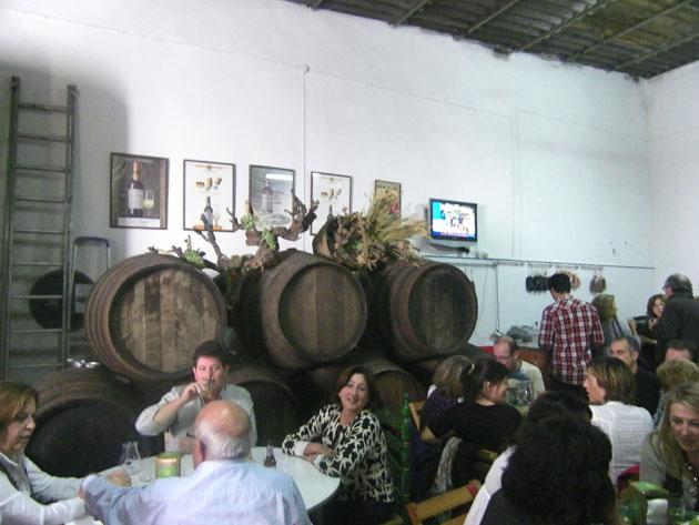 El Rincón del abuelo Enrique, el mosto de la familia Rodríguez Villegas. Foto: Cosas de Comé