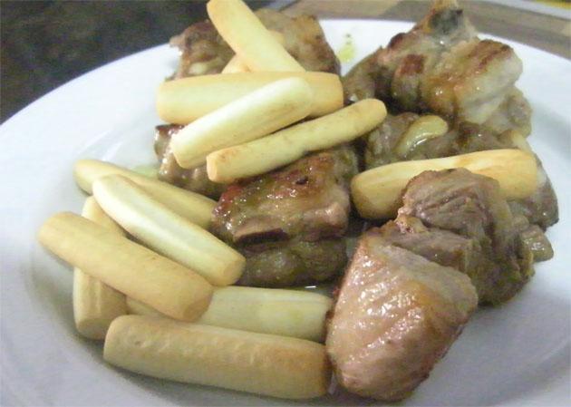 Las costillitas al limón de Milagros Rodríguez Villegas. Foto: Cosas de Comé.